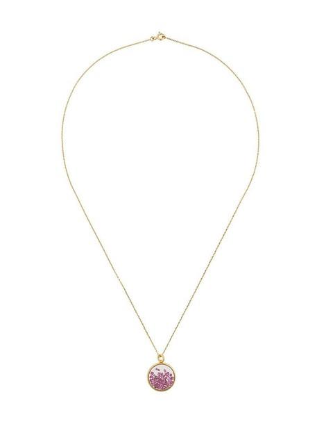 AURELIE BIDERMANN women necklace gold yellow grey metallic jewels