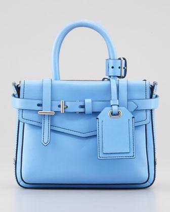 Reed Krakoff Boxer Micro Tote Bag, Blue - Bergdorf Goodman