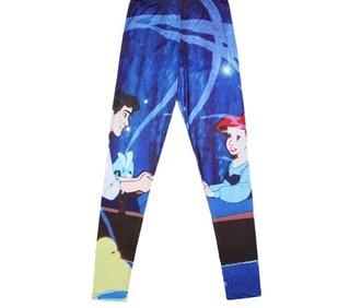 pants disney leggings the little mermaid
