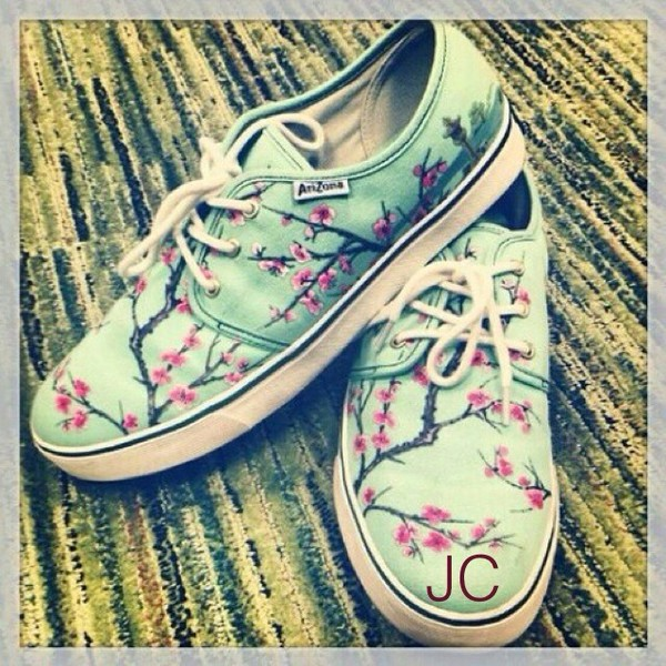 shoes arizona tea vans
