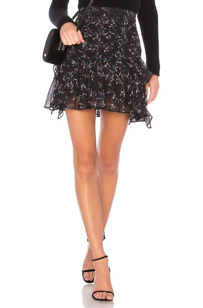 TANYA TAYLOR skirt black