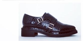 shoes black heels fashion details snake print