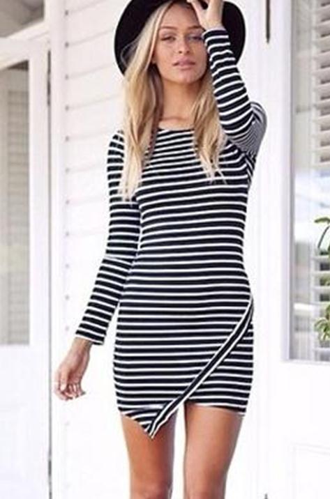 Fashion irregular cute dress