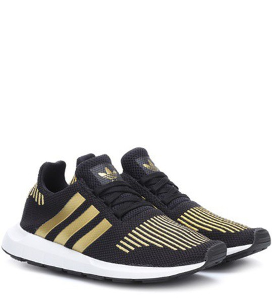 Adidas Originals run sneakers black shoes