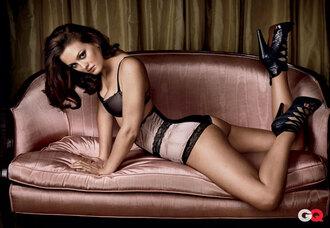 leighton meester blair gossip girl pink underwear black underwear