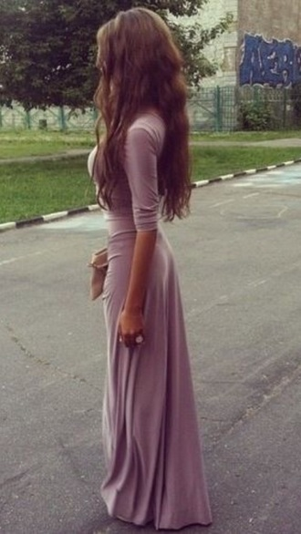 dress maxi dress purple dress lilac dress