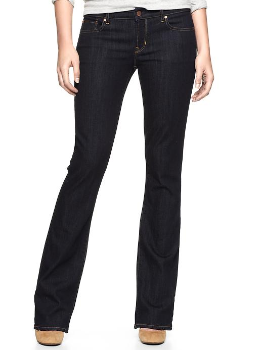gap 1969 sexy boot jeans - indigo rinse
