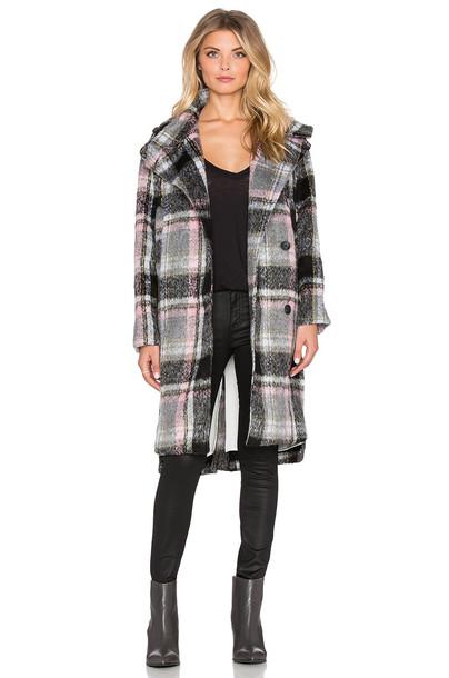 Line & Dot coat black