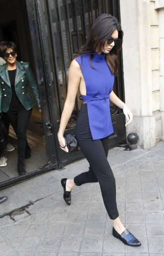 top pants shoes kendall jenner fashion week classy