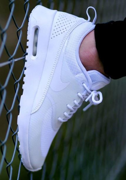 super popular f6fc1 d2092 shoes nike - wmns air max thea air max nike air max thea all white  everything