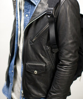 leather jacket,biker,jacket