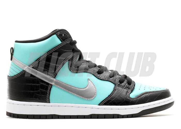 "dunk high prm sb ""diamond"" - aqua/chrome-black - Dunk SB High - Nike Skateboarding - Nike  
