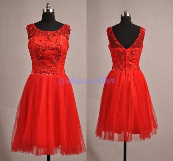 dress prom dress evening dress jovani dress red dress crystal dress backless dress short dress