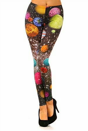 Galaxy Planet Leggings – CuteClubOutfits