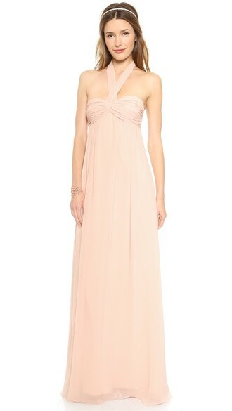 gown strapless long dress