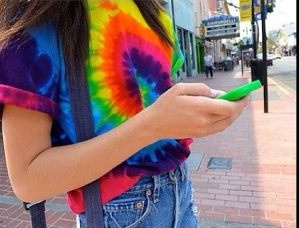 shirt t-shirt tie dye tie dye shirt colorful