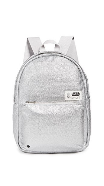 STATE mini backpack silver bag