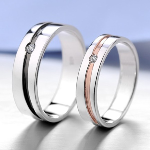 Jewels Matching Rings Couples Rings His And Hers Rings Engagement Ring  Sterling Silver Rings Engravable Rings