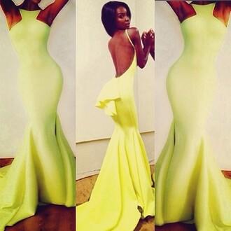 dress maxi dress long dress backless dress prom michael costello