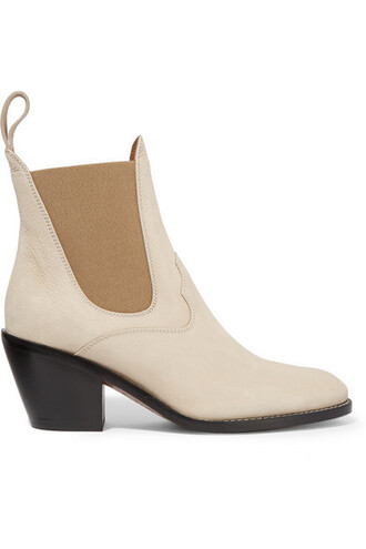 suede ankle boots boots ankle boots suede beige shoes