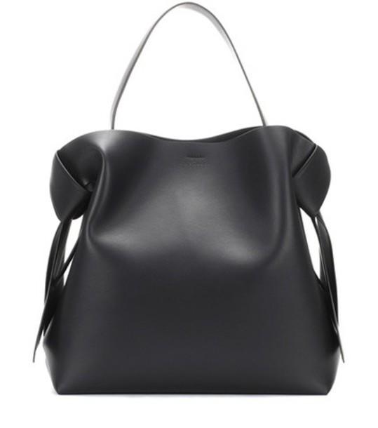 Acne Studios Masubi leather handbag in black