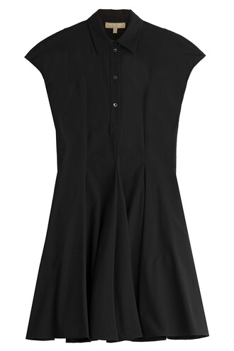 dress cotton black