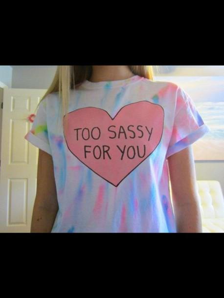 t-shirt top tie dye