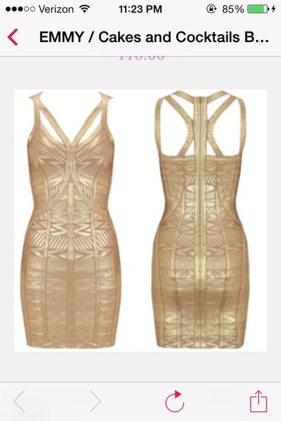 dress emmy gold sequins glitter dress