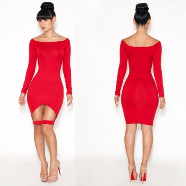 dress little red dress