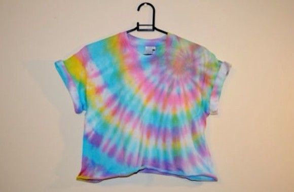 t-shirt fashion tie dye shirt