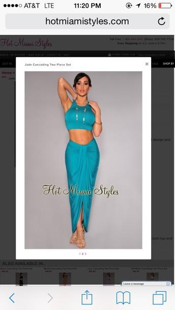 dress two piece body con