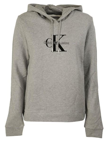 hoodie print sweater