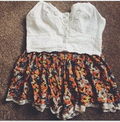 top,bralette,flowers,fat face,white crop tops,crop tops,crop tops embrodering,crop top bralette,white flowery,floral
