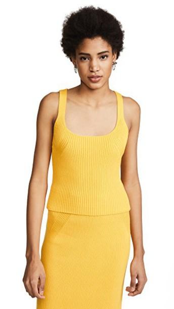 Mara Hoffman sweater yellow