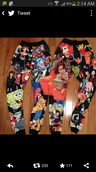 cartoon beavis and butt-head bart simpson 90s style spongebob printed pants sweatpants cheiff colorful joggers leggings 90's cartoon pants jumpsuit 90's cartoon sweatpants pajamas cartoon characters tights emoji print dope loose nightout swag 90's cartoons kim possible proud family pants the powerpuff girls disney channel nickelodeon black hey arnold the simpsons halloween daria arthur doug 90s cartoon pants multicolor pizza print disney bigcartel kim possible joggers cartoon charactor princess the proud family power puff girls cartoon joggers these exact joppers clothes tight character joggers cartoon joggers ❤️ tv show kids show