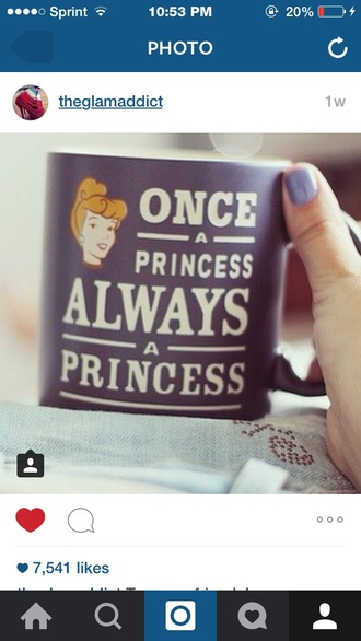 home accessory mug princess