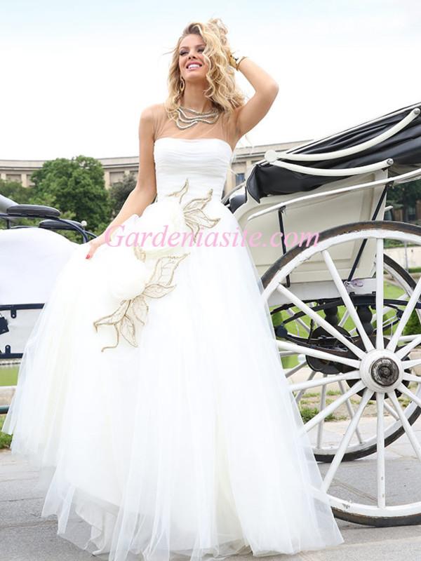 prom dress white prom dress