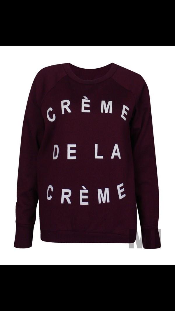 blouse cremadelacreme swag blouse fashion style winterclothes