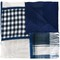 Pierre-louis mascia checked scarf, women's, blue, silk/modal/cashmere