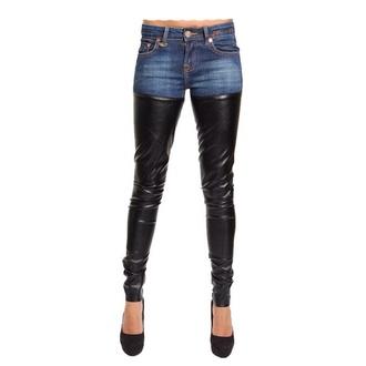 cute denim leather pants jeans leather pants leather jeans cute  outfits beautiful beauty nice combination nice fashion nice