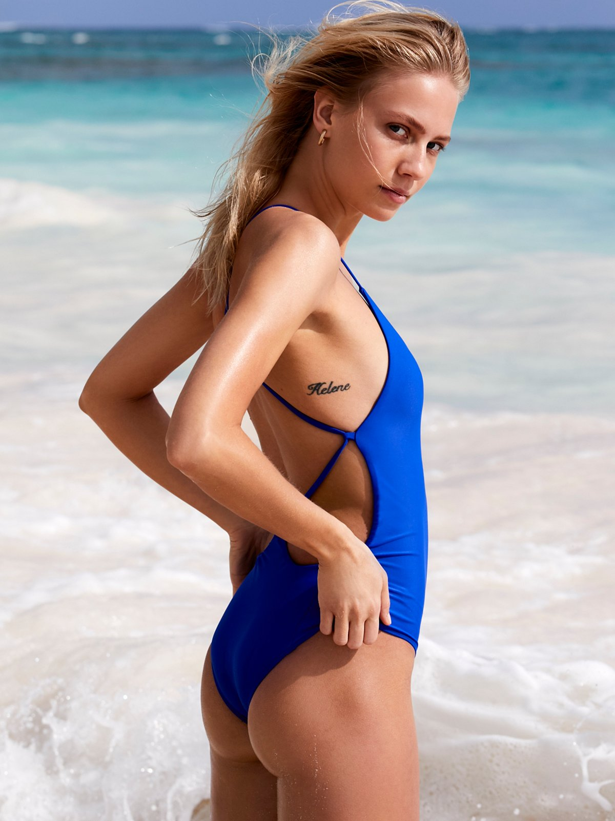 b6a4bb2b2f001 Free People Farrah One Piece Swimsuit