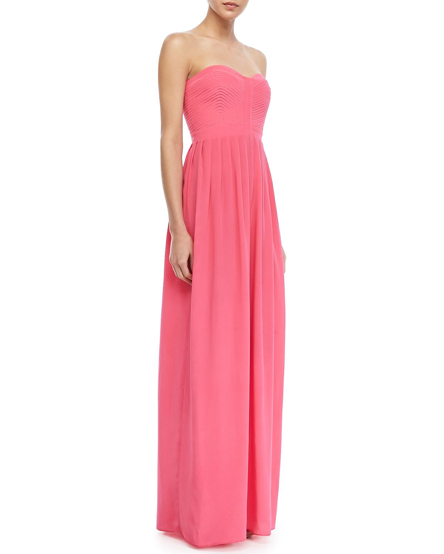 Cosmopolitan Strapless Bustier Maxi Dress