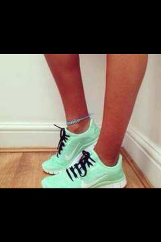 mint sneakers tiffany blue tiffany blue nikes nike sneakers nike bright sneakers running shoes nike running shoes green sneakers