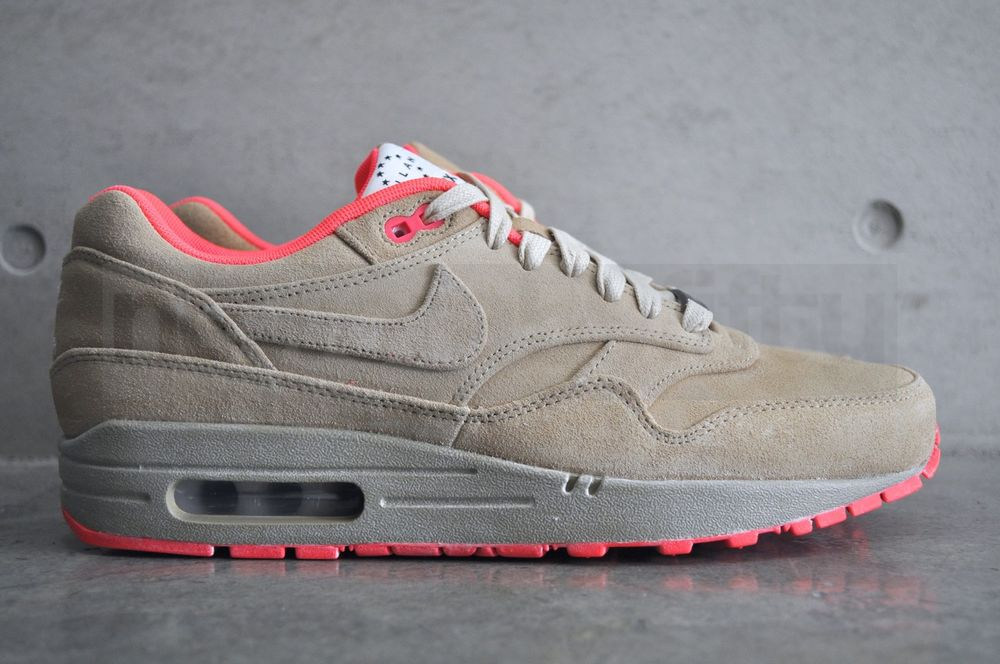 official photos 54459 b909b Nike Air Max 1 Milan QS (Hometurf Series) - Linen Linen-Atomic Red ...
