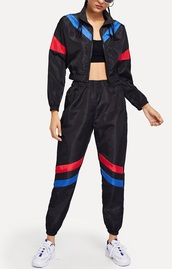 jumpsuit,girly,girl,girly wishlist,two-piece,joggers,track pants,tracksuit,cropped,crop,cropped jacket