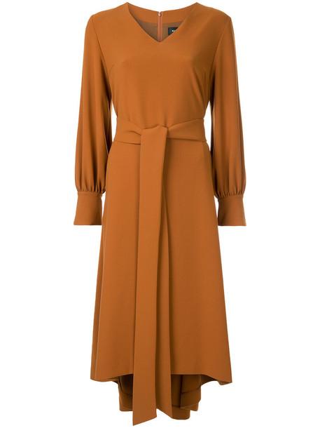 G.V.G.V. dress belted dress women brown
