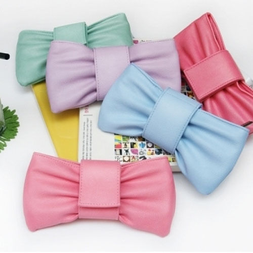 Big Bow Ruffled Ribbon Pencil Case Ver.3 - Artholic