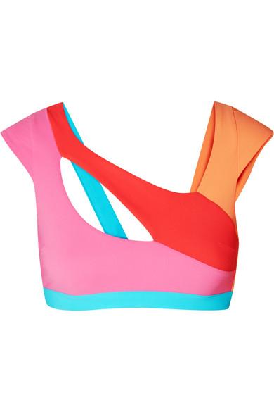 Agent Provocateur - Izaro color-block bikini top