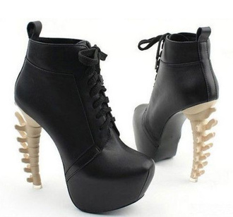 shoes spine spine heals bones boots gorgeous black booties