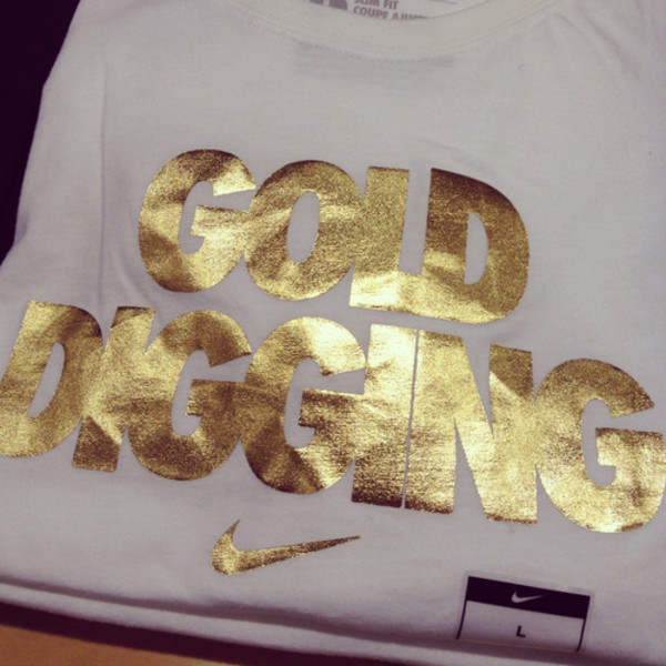 shirt gold nike nike shirt check white